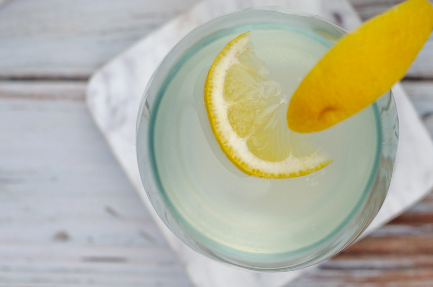 A simple refreshing beverage, this stevia-sweetened lemonade is perfect for summertime! Simply squeeze the juice of one lemon into a cup, add water and stevia and chill. Vegan, vegetarian, Paleo, low-carb, ketogenic.