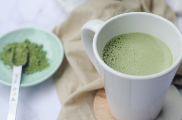 This super-frothy vegan matcha is so creamy and earthy! Made with your favorite dairy-free milk of choice, it is also sugar-free, low-carb and paleo!