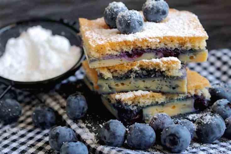 Keto Berry Coffee Cake