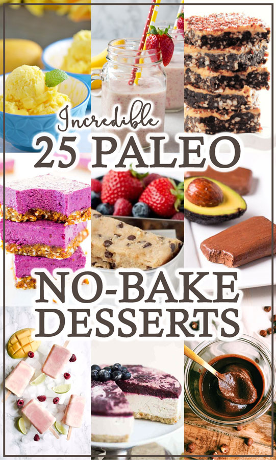 Looking for some super simple but incredibly delicious Paleo dessert recipes? These Paleo no-bake dessert recipes are some of the best around, and will get you out of the kitchen and into the sunshine in no time at all!