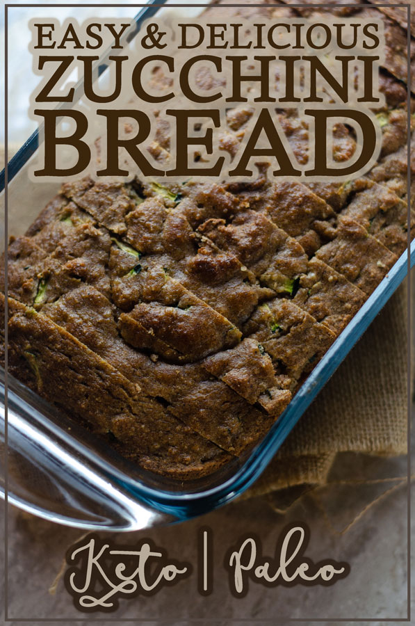 This easy and delicious zucchini bread recipe is a crowd favorite! It is perfect for anyone following keto or paleo, or for someone who is gluten-free, grain-free or dairy-free.