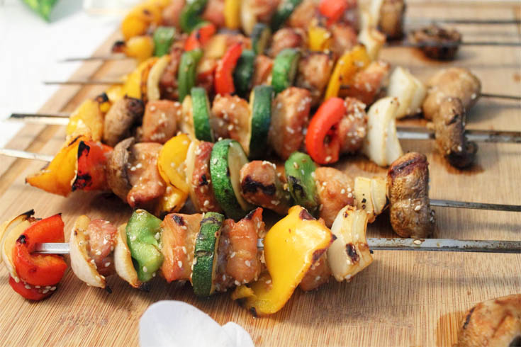 Korean BBQ Kabobs – Easy Summer Grilling