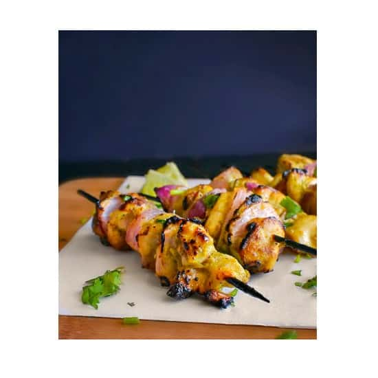 Murg Malai Tikka Recipe (Indian Chicken Skewers) #ketochicken