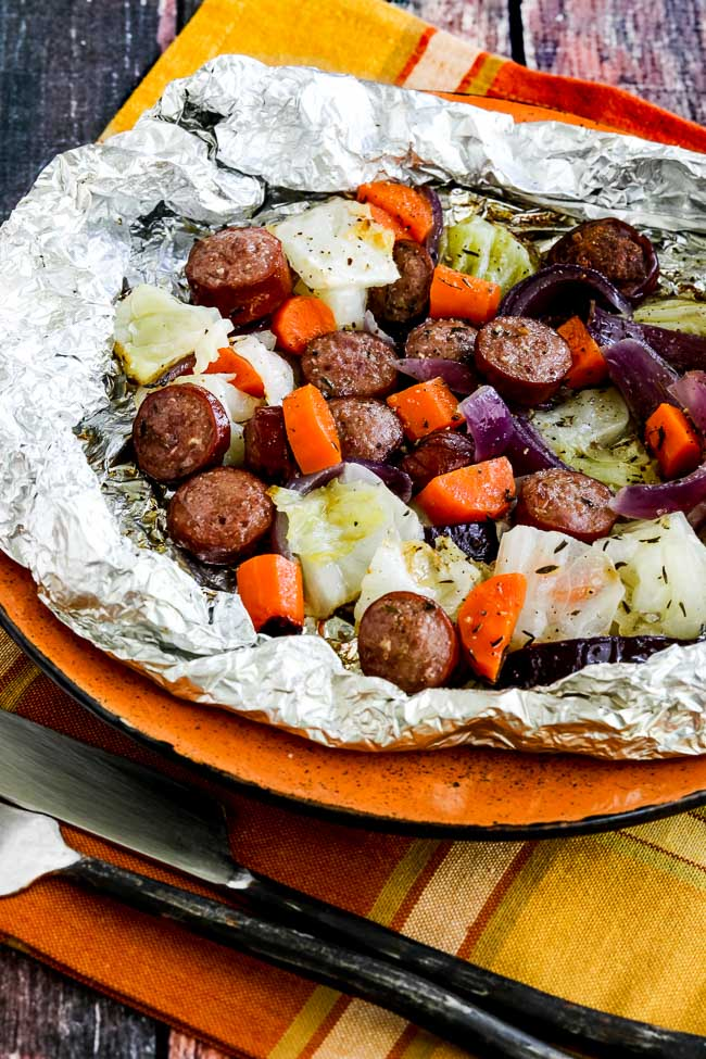 Low-Carb Autumn Tin Foil Dinners - Kalyn's Kitchen