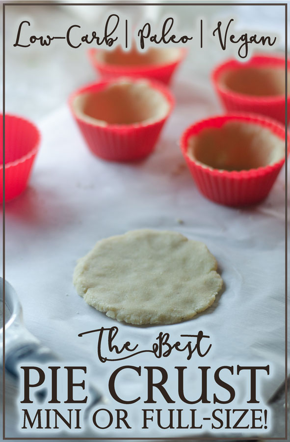 It took me ages to perfect this life-changing low-carb pie crust! It's incredible, and incredibly simple! Keto, low-carb, paleo, vegan.