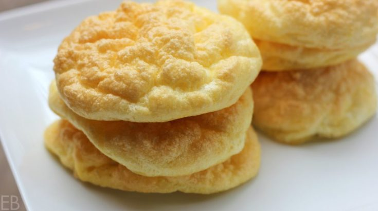 *Cloud Bread*~ KETO, Paleo, GAPS Diet {High Protein, Low-Carb, Lactose-free!; DAIRY-FREE option!}