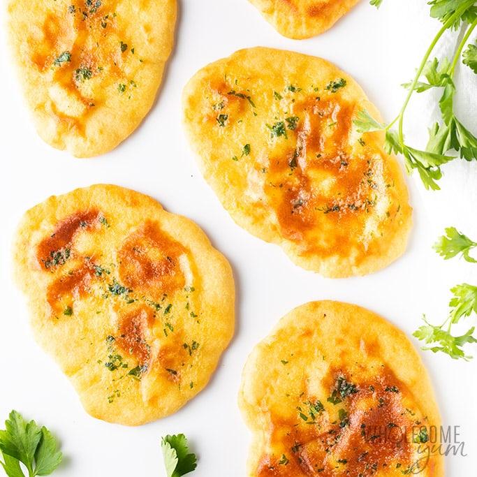 Low Carb Keto Naan Bread Recipe