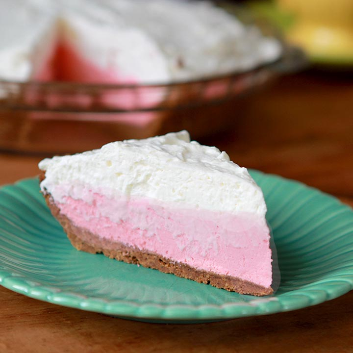 Strawberry Jello Cream Pie [Low Carb & Keto] - Resolution Eats