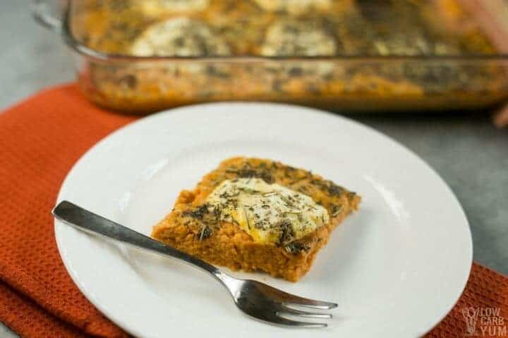 Savory Pumpkin Casserole Recipe with Herbs