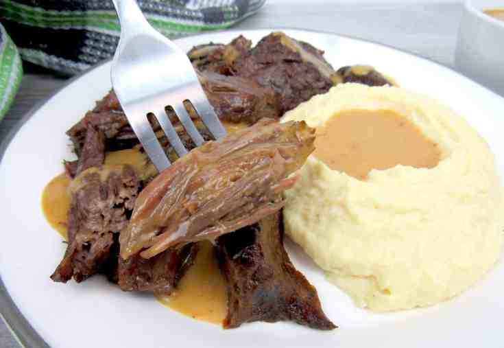 Best Instant Pot Roast with Gravy - Keto and Low Carb