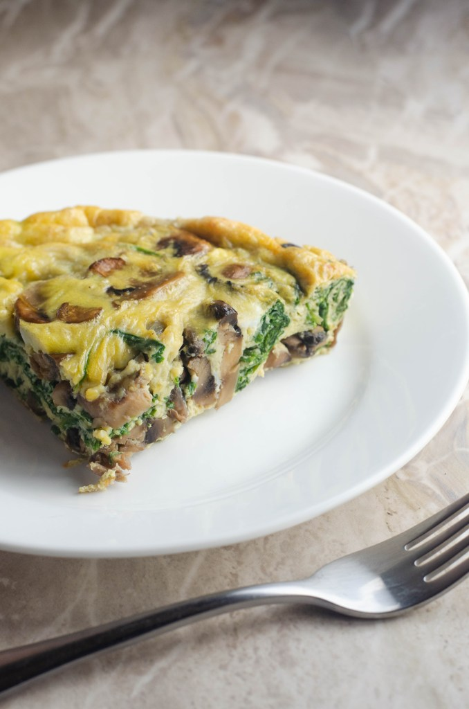 This super-fluffy frittata is a delicious weeknight, weekend or breakfast meal. It's perfect for any time of day! Whole30, Paleo, Keto, Vegetarian.
