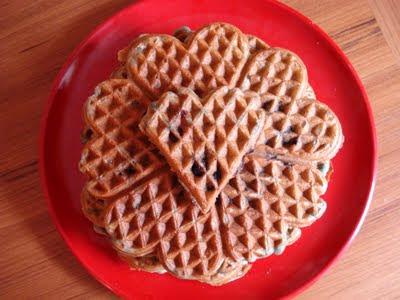 Whole-Wheat Blueberry Buttermilk Waffles