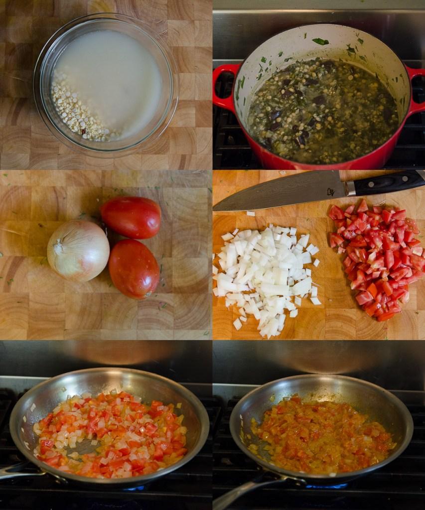 Spinach and Dill Lentil Stew ~ Shahi Bhaji