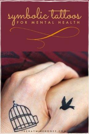 Symbolic Tattoos for Mental Health