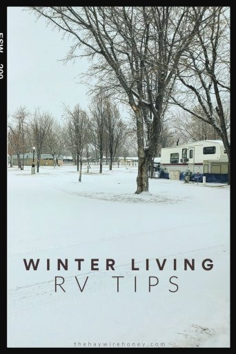 RV Winter Living Tips by Full-timers