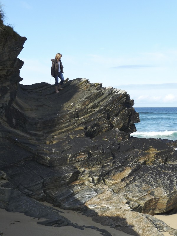 Eoropie's Pre-Cambrian 'half-pipe'