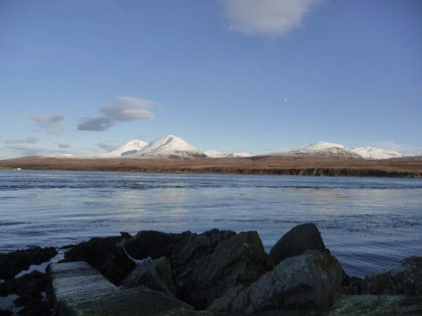 View of Jura from Caol Ila