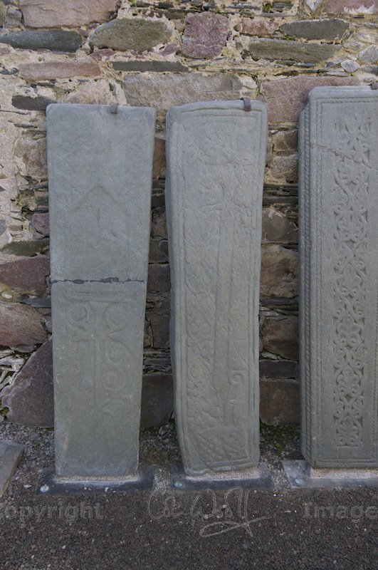 Grave slabs at Kilmory Knap