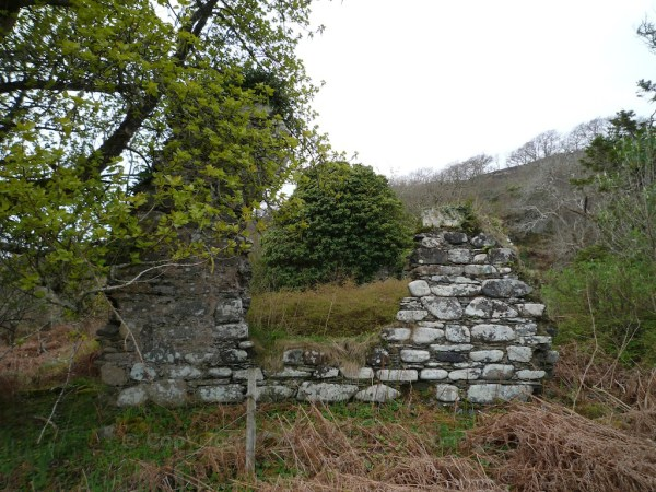 Ruined cottage in Knapdale
