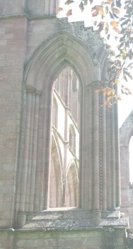 Dryburgh window 3