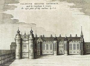 Holyrood Palace, c.1649