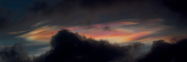 Nacreous clouds 2 Feb 2