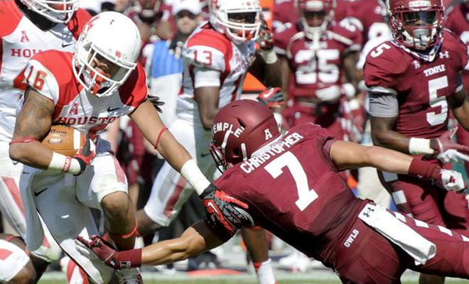 Image result for Temple Owls vs. Houston Cougars