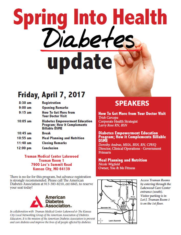 Spring Into Health Diabetes Update | American Consultants