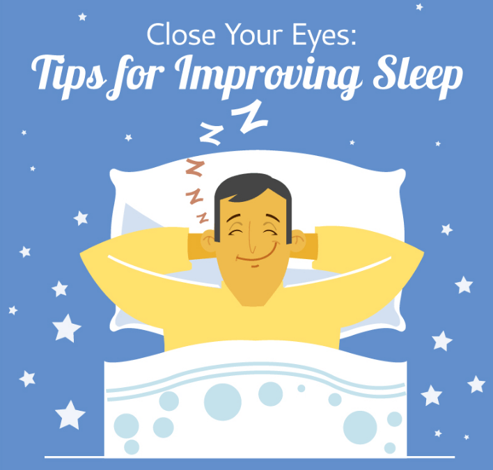 Tips for Improving Your Sleep: Infographic