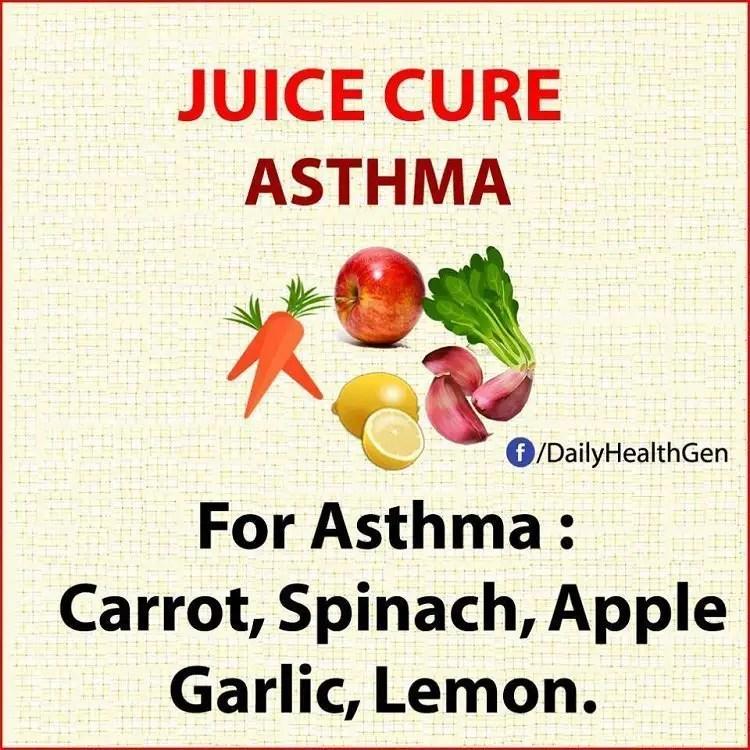 juice cure asthma