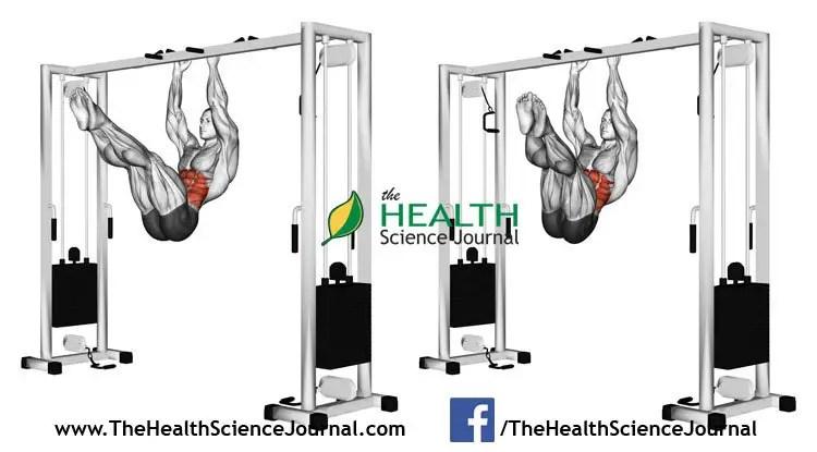 © Sasham   Dreamstime.com - Exercising for bodybuilding. Turns hips on the stick the overhang