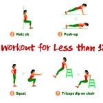 Full Body Workout for Beginners in Less than 12 Minutes