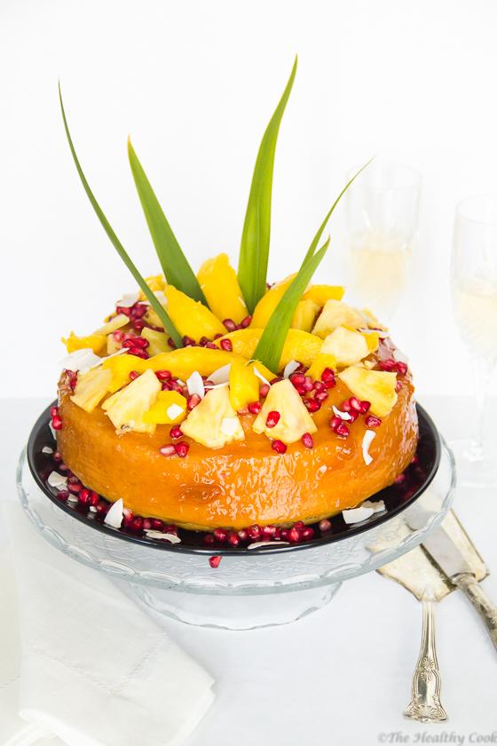Tropical Fruit Cake – Τροπικό κέικ με φρούτα