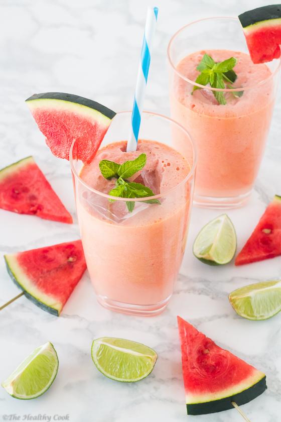 Coconut-Watermelon-&-Lime-Juice – Χυμός-με-Καρπούζι-Καρύδα-&-Λάιμ