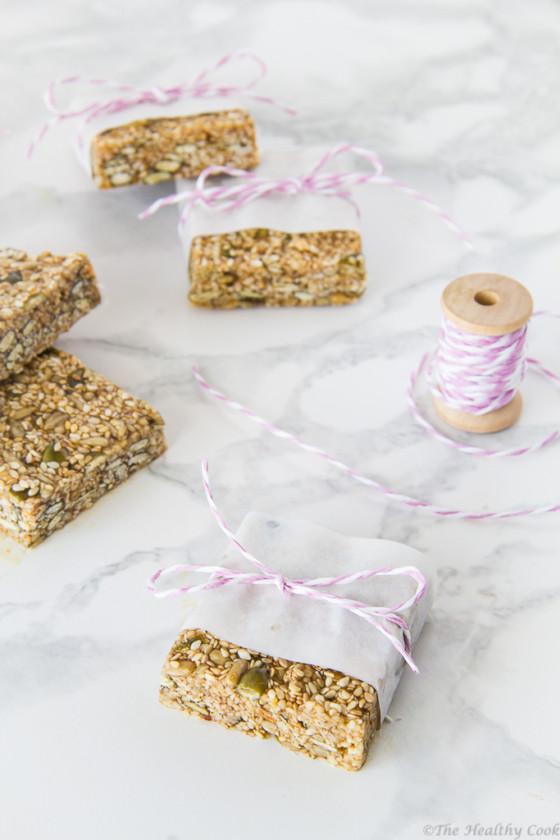 Homemade-Sesame-Bars – Σπιτικό-Παστέλι-με-Μέλι