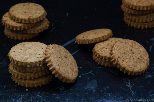Εύκολη συνταγή για Μπισκότα Digestive Χωρίς Γλουτένη - Delicious Gluten-free Digestive Cookies