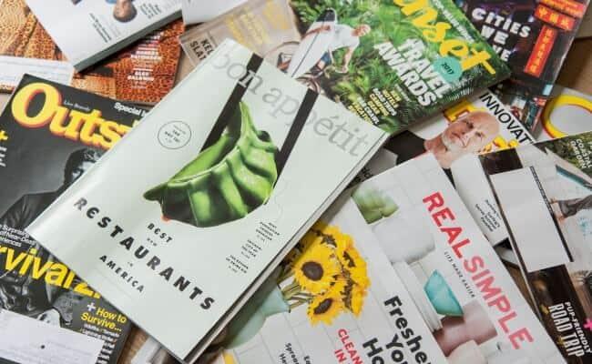 Magazines Advertise Immune Boosting Supplements