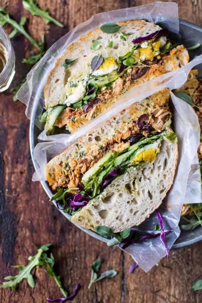 Tuscan Tuna Sandwich Half Baked Harvest