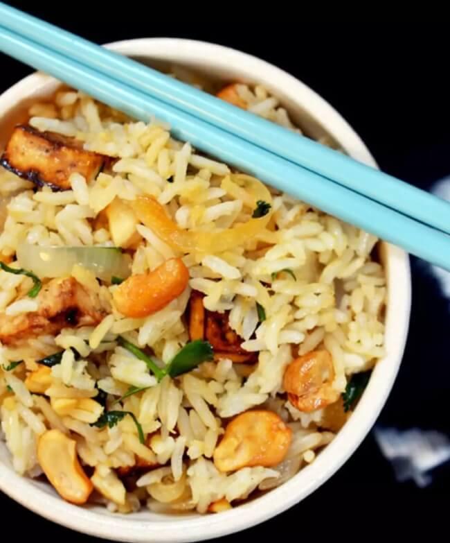 Recipe Brown Rice Bowl With Tofu And Lemongrass Emily Han
