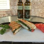 Tuscan Herb Panini with White Balsamic Aioli + Dove Olive Oil Giveaway!