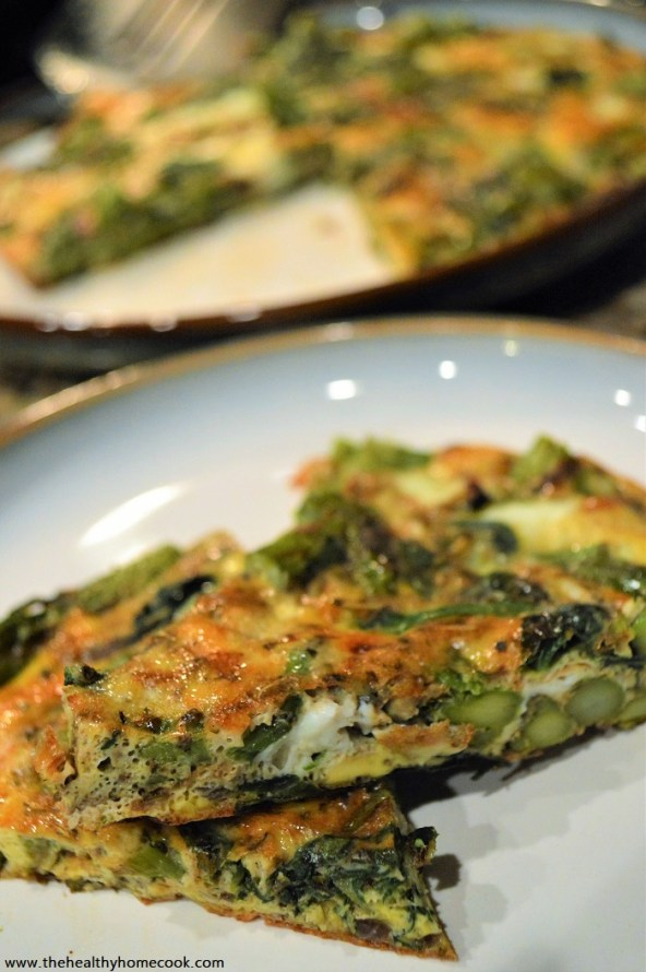 This Asparagus & Spinach Frittata is a no-fail recipe that looks beautiful, as well.