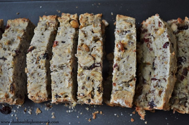 Make breakfast a little more special with this Grain Free Fruit & Nut Bread. It's a delectable, yet healthy, recipe everyone will jump out of bed for.