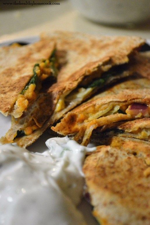 Greek Quesadillas- It's a tasty twist on the traditional quesadilla that everyone will love.