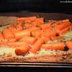 Roasted Honey & Herb Carrots