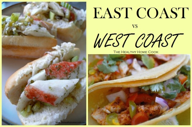 Will you fall in love with my east coast Light Lobster Rolls or the west coast Fish Tacos? Taste and see!