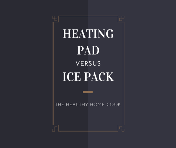 Heating pad vs ice pack, which is best to use when recovering from an injury?