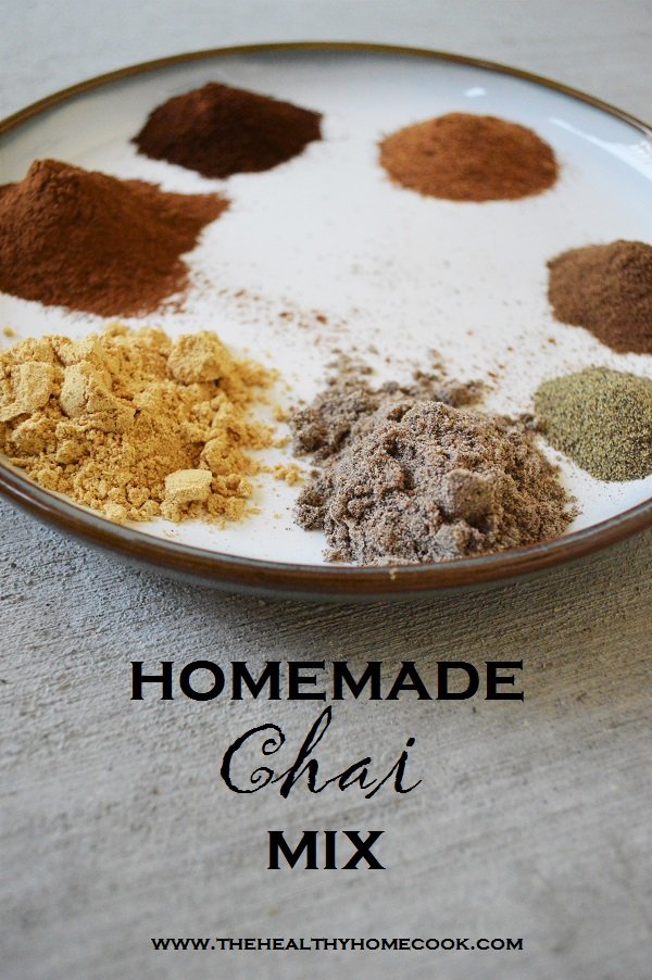 With no added sugar, my Homemade Chai Mix is the perfect way to kick start this fall season.