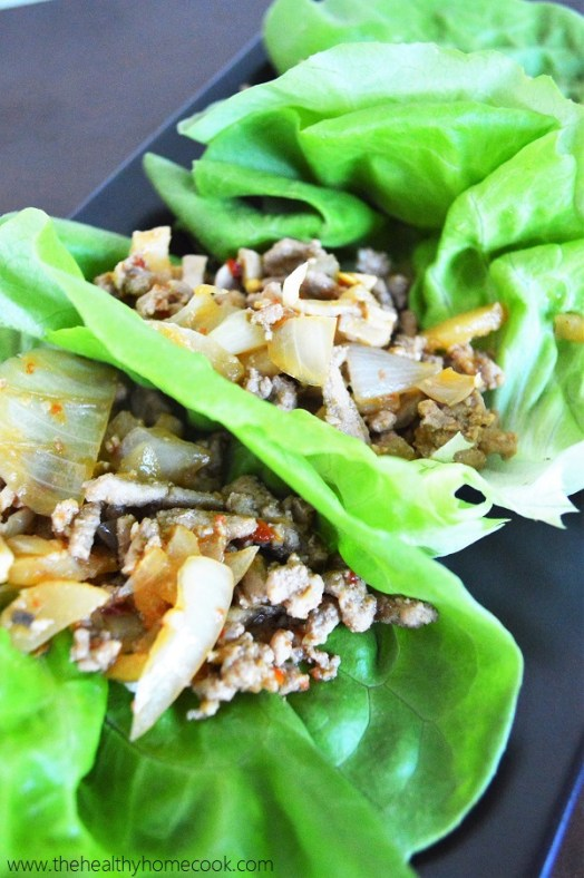 With crisp lettuce, a flavorful filling and a spicy topping, your life with never be the same with these Asian Turkey Lettuce Wraps.