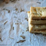 Rosemary Pie Crust Crackers