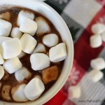 {Dairy Free} Toasted Marshmallow Hot Cocoa Cocktail